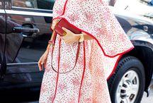 Kimono street style / Long or short kimono,
