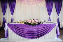 Kulisse für Hochzeit Ideen