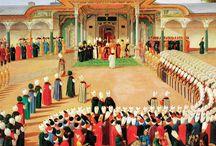 Osmanlı Tarihi Ve Padişahları / Osmanlı İmparatorluğu dünyanın en büyük devletlerinden biri olarak 624 yıl boyunca yaşadı. Osmanlı'nın genel tarihi ve padişahların hayat hikayelerini içeren makalelerimi bu panodan takip edebilirsiniz.