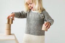 Div barn / Strikking, sying og ideer