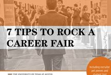 Career Fairs and Expos / How to prep for and take maximum advantage of career fairs and expos  - be the one they remember for all the right reasons!