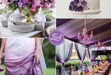 PANTONE Amethyst Orchid Wedding Ideas / Wedding ideas inspired by the PANTONE 2015 color Amethyst Orchid