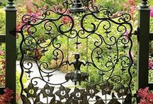 Garden gates and fences