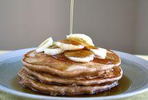 healthy eating || Baking Breakfast / Breakfast recipes : oatmeal, pancakes, waffles & muffins