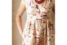 Damenkleider aus Webware