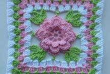 Crochet Squares / cruchê