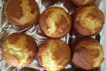 Homemade muffins / My favorite homemade lemon muffins..