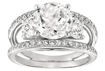 Three stone engagement rings / All three stone engagement ring styles