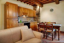 Interiors / Gli interni degli appartamenti