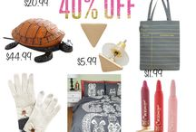 100s Of Gifts-Fresh New Finds / 100s Of Gifts-Fresh New Finds - up to 80% OFF , shop while they last. Get the scarfs, Gloves, Party Socks, Pillows, Tote, Bedtime Cover, Earrings, clutch, iPhone case, Necklace, Vase, set, Poppin Crayons, Mugs, Candles