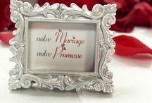 Thème de mariage Passion / Découvrez des idées pour une décoration de mariage thème passion, une décoration signée Mariage Réussi !