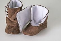 baby boots and slippers