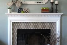 Mantle decor / by Amy Lawing