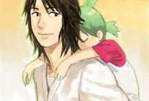 Yotsuba&! / A manga that started March 2003 and is still ongoing.  Created by Kiyohiko Azuma.