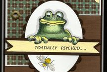 Cards (frogs/fish) / by Karleen Miller Kettleson