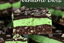 Recipes to Cook chocolate mint bars nanaimo bars