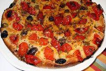 Pizze e focaccie