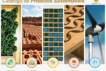 Produtos e materiais sustentáveis para casa