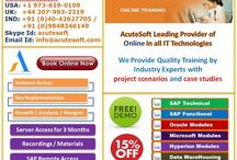 Get 15% OFF on All SAP and NON SAP modules from AcuteSoft. For Free DEMO Please Register Now.