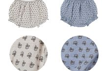 Baby's adorable look / Bloomers and pants in soft fabric