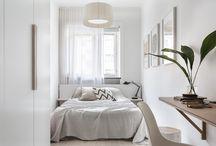 Slim bedroom suite