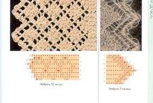 knitting patterns / pletenie - vzory