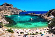Beaches of Rhodes / Discover the natural and beautiful beaches of the Island of Rhodes, Greece