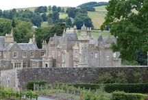 Abbotsford - Home of Sir Walter Scott / Abbotsford is the home of the novelist Sir Walter Scott  and is located in the Scottish Borders near Melrose