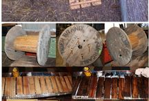 Cable reels / Things to make with cable reels