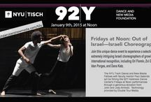 92Y Harkness Dance Center and NYU'S Tisch Dance and New Media program
