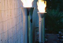 Gas Garten lampe