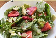 salads / by Katherine Holbrook