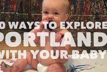Portland Babies / From making a nursery to where to have the baby - check out these pins