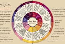 WINE EDUCATION / Easy and fun visual infographics to help educate you about wine, varietals, aromas, tasting, and more.