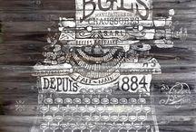 Typewriter's & ampersands...