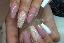 beauty nails in love pink