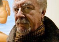 """Fernando Botero / Fernando Botero inizia la sua carriera a sedici anni come illustratore di """"El Colombiano"""", il giornale più importante della sua città natale. Nel 1952, grazie al denaro vinto col secondo premio di pittura al IX salone degli artisti colombiani, intraprende un viaggio–studio in Europa"""