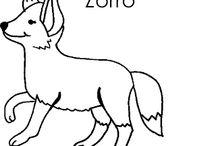 Animales en inglés y mucho más. / Imágenes que representan animales con sus nombres en inglés.