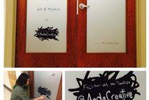Anda | Chalkboard Door Series