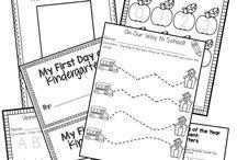 Beginning of the year kindergarten ideas