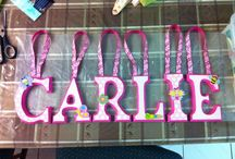 Designs by T / Designs by T creates personalized letters and shadowboxes