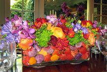 floral arrangements... / by Annie Hammer