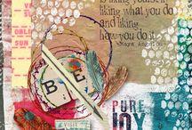 Digital art journalling