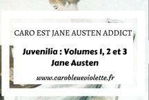 Caro est Jane Austen Addict - Caro Bleue Violette / Ici je rassemble tous les articles de mon blog en rapport avec mon autrice favorite, Jane Austen.