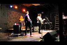 Hot Lady Band at The House of Bricks / Hot Lady Band performing at The House of Bricks, Des Moines, Feb. 8, 2014.