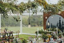 C+L Wedding Decorations / Theme: Woodlands and Classy Picnic  Collaborative creative direction!