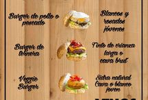 Consejos hamburguesas / Consejos para cocinar hamburguesas - maridajes - burger - cocteles