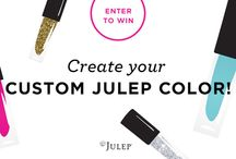 Julep Giveaway  / by Ria Alemina Ginting