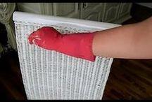 Stuhl streichen