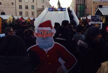 Inauguration des illuminations et des animations de Noël à Poitiers